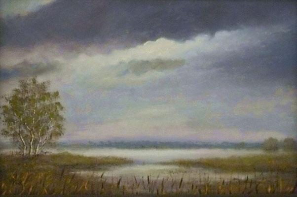 62) Hans Pick: Weite Landschaft (50 x 60) Verkauft