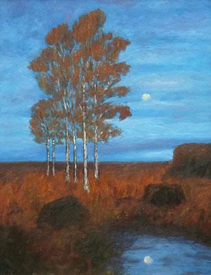 54) Hans Pick: Am Torfstich (60 x 80) Verkauft