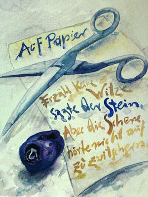 Günter Grass Algraphie: Auf Papier (46 x 35,5 / 59,5 x 46; am Markt erhältlich)