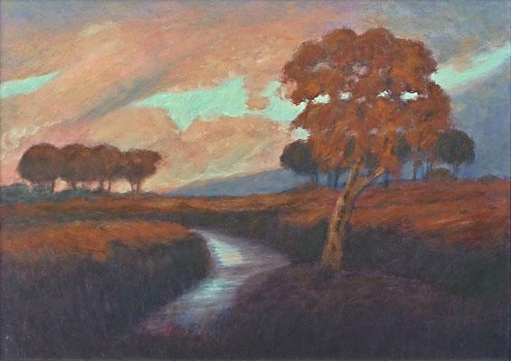 3) Hans Pick: Tief im Teufelsmoor (50 x 70) Verkauft