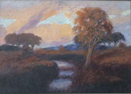 18) Hans Pick: Im Teufelsmoor (50 x 70) Verkauft