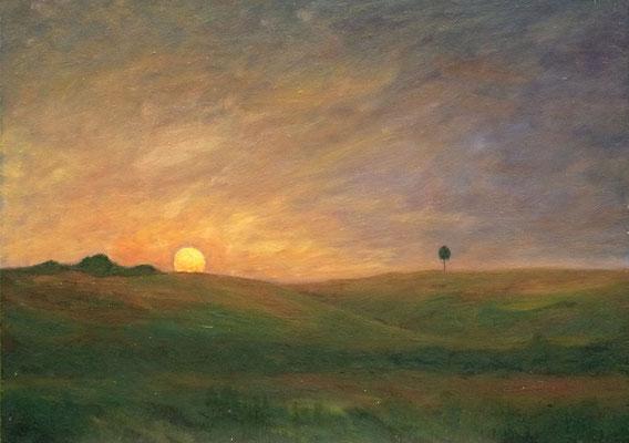 90) Hans Pick: Südliche Landschaft (50 x 70) Verkauft