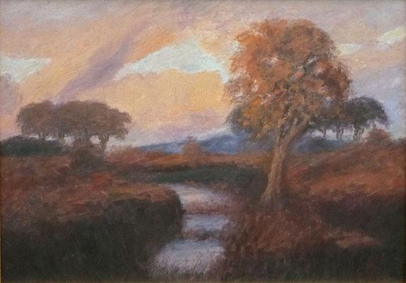 84) Hans Pick: Teufelsmoor (50 x 70) Verkauft