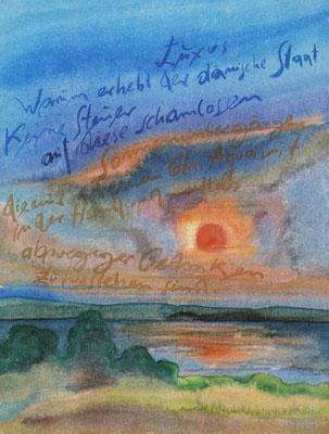 Günter Grass Algraphie: Luxus (47 x 36 / 60 x 46; am Markt vergriffen, 1 x lieferbar)