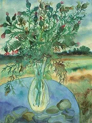 Günter Grass Algraphie: Disteln 74,5 x 55 (am Markt erhältlich)