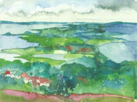 Günter Grass Algraphie: Hiddensee  (24 x 32 / 36 x 48,5; am Markt vergriffen, derzeit nicht lieferbar)