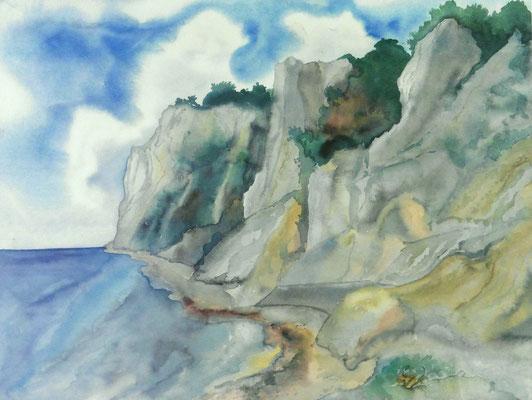 Günter Grass Algraphie: An der Küste (46 x 61 / 55 x 70; am Markt vergriffen, derzeit nicht lieferbar)