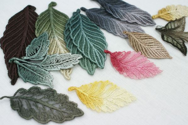 葉っぱモチーフ