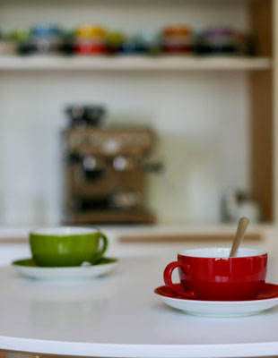 Institut IMAP, Königswinter - Kaffeetassen