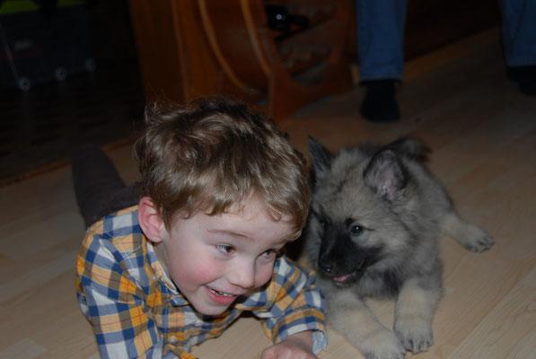 Alain hat ein wunderbares Gespür für Hunde