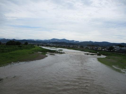 日野大橋上流