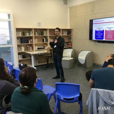 Charlas sobre acoso escolar y ciberacoso a familias en Colegio Francés