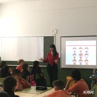 Charla sobre acoso escolar a alumnos del CEIP San Miguel en colaboración con el Programa Tenerife Solidario