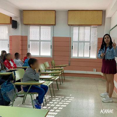 Charla sobre acoso escolar - IES Canarias