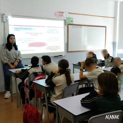Charla sobre acoso escolar - Colegio Máyex (Secundaria)