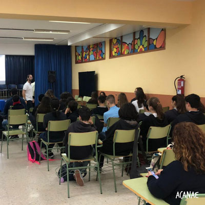 Charla sobre acoso escolar - IES Magallanes