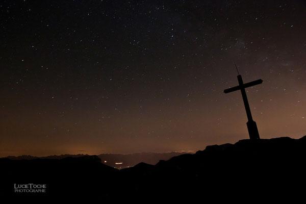 Les étoiles vue du massif de la Chartreuse