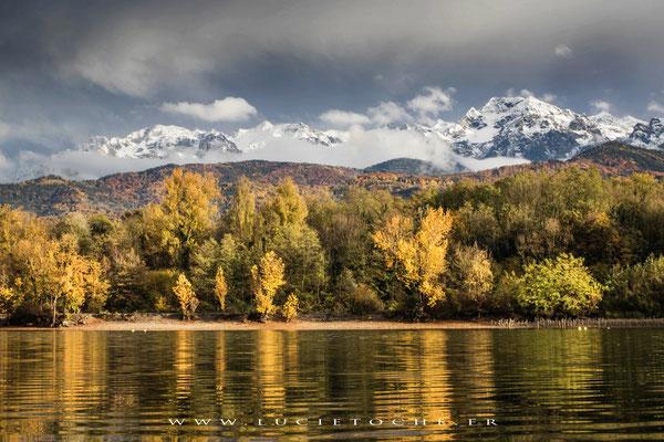 L'automne tombe sur les Alpes ...