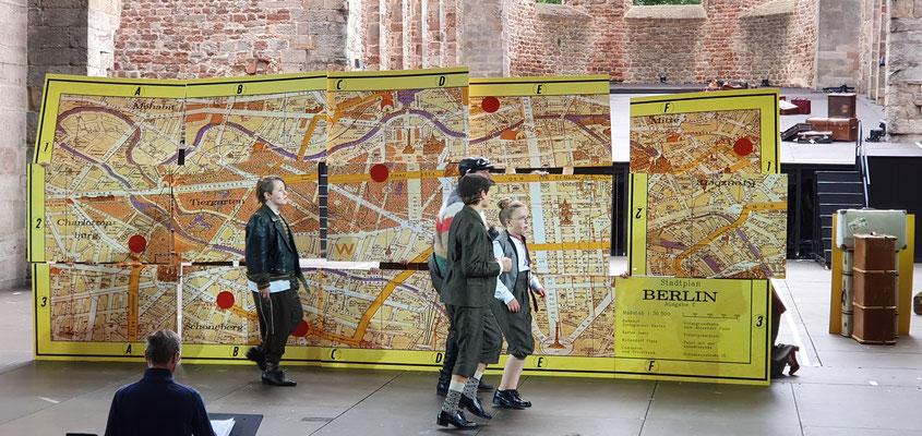 Der Stadtplan von Berlin