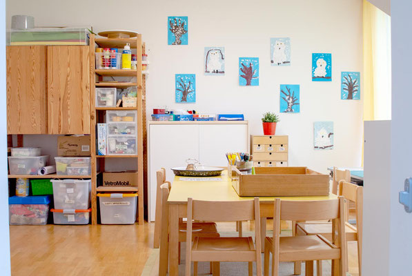 Atelier und Konstruktions-Zimmer