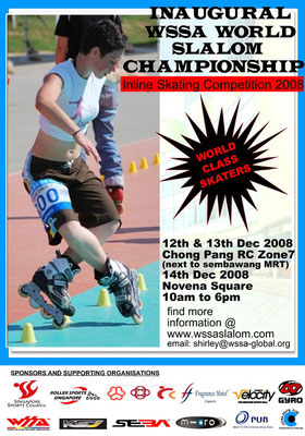 WSSA World Slalom Championships Poster