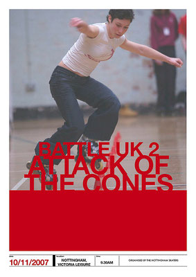 Battle UK II: Attack of the Cones (Advert)