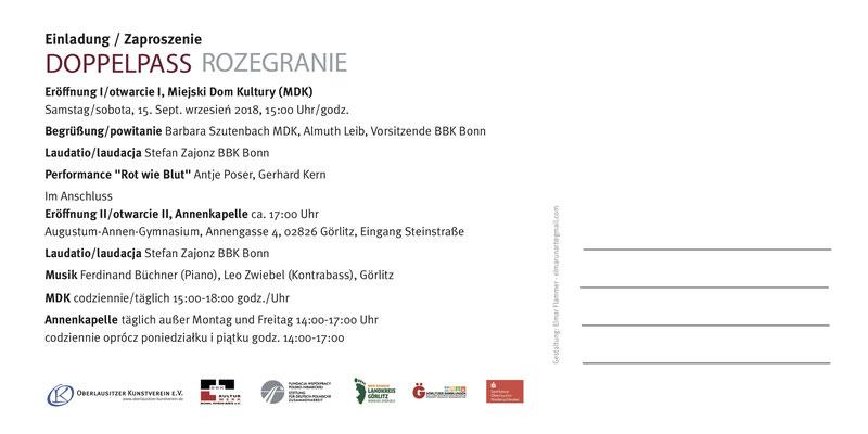 Deutsch-Polnische Künstlerbegegnung / Co-Kurator, Fotografie / Stefan Zajonz / mit Katalog