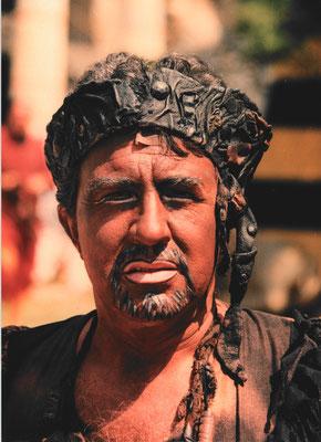 """A. Martin als Amonasro in """"Aida"""", Foto © Unbezeichnet"""