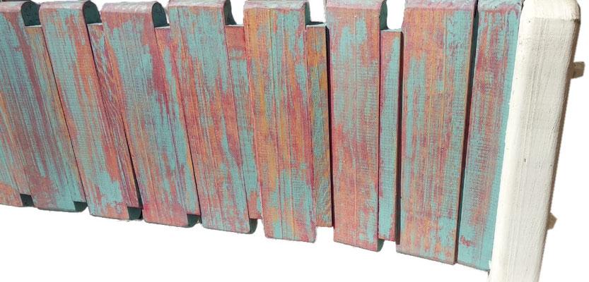 Banca de madera vintage