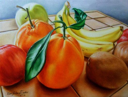 Frutta - Olio su tela 30X40