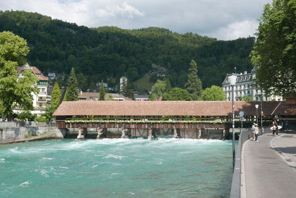 Holzbrücke in Thun