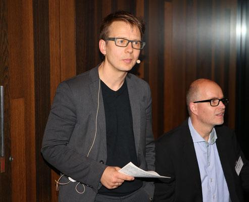 Freunde: Nick Zippel und Swen Dittmer von Sager&Deus