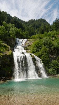 Herrlicher Wasserfall in Faido