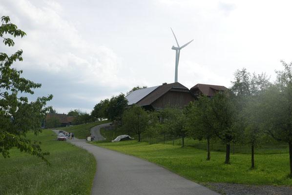 Nordische Silhouette in Entlebuch...