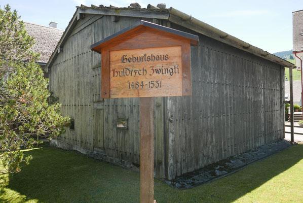 Geburtshaus von Zwingli in Wildbach
