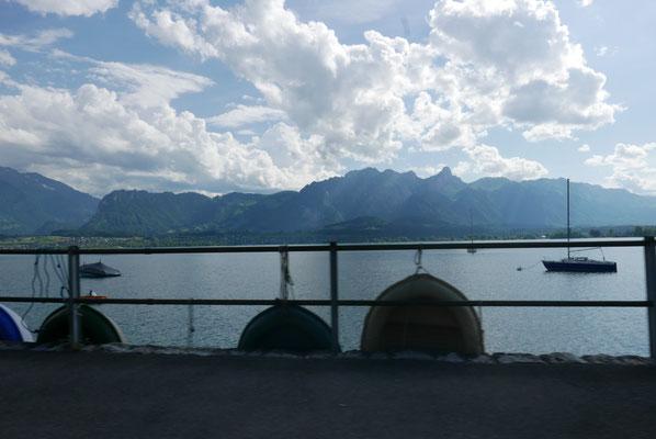 Auf dem Weg nach Interlaken....