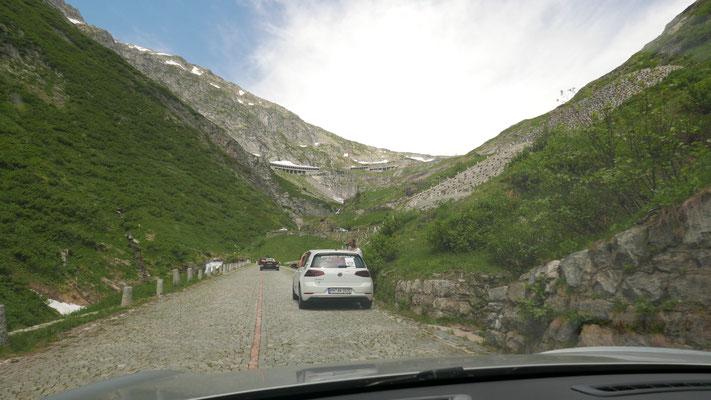 """Auf dem Weg zum Gotthard auf der Strecke namens """"Tremolo"""""""