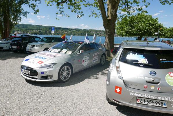 Stop am Bodensee bei Steckborn.