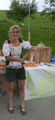 Die Bäuerin aus Rengg stellt auch wunderbar duftende Dinge her, aus den Kräutern der Region...
