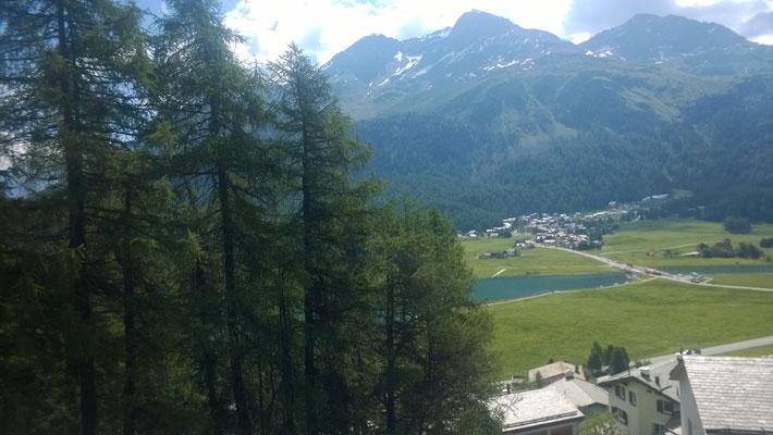 Noch ein Blick auf den Moritz-See