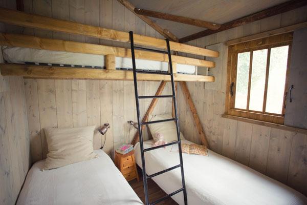 dormir dans une cabane dans les landes
