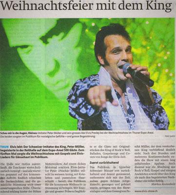 Elvis show imitator peter müller