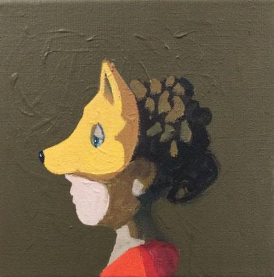 ohne Titel - Acryl auf Leinwand, 20x20cm, 2018