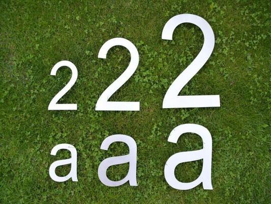 XXL Hausnummer 30, 40 und 50 cm