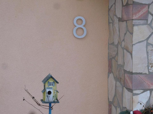 XXL Hausnummer 30cm