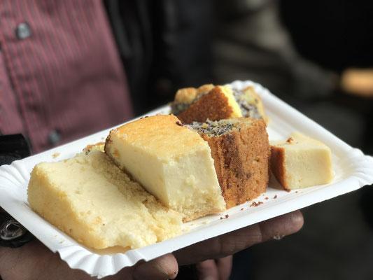 Viele verschiedene lecker Kuchen