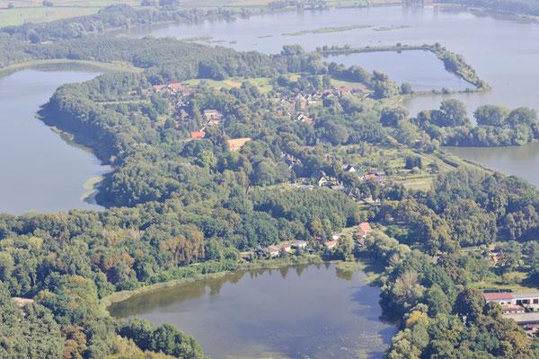 Altfriedland von Oben