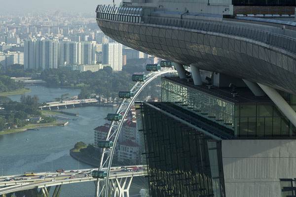 Marina Bay Sands view/ Singapore