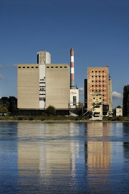 Thermal power plant on the Danube