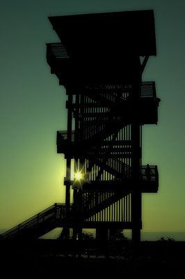Observation tower in Burgenland/ Austria